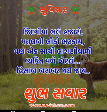 Good Morning Events Gujarati Hindi English Suvichars Quotes